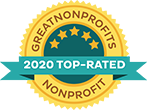 Great Non-profits 2020 top rated awards badge