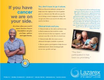 Lazarex Patient Brochure